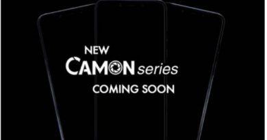 Tecno new series of smartphone