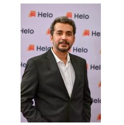 """""""Helo crossed more than 1 million downloads within the very first month of its India launch in June 2018"""" - By, Mr. Shyamanga Barooah, Content Operations, Helo 1"""