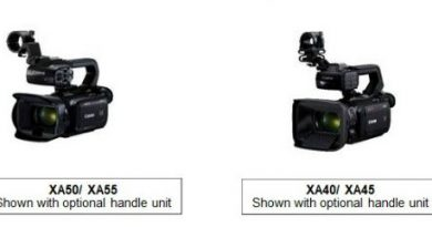 Canon 4K-capable professional camcorders