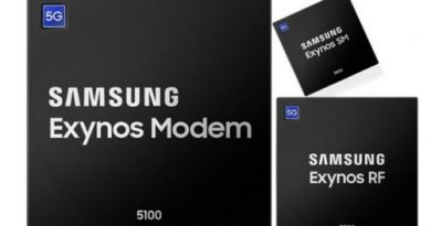 Samsung 5G modem and RF chips