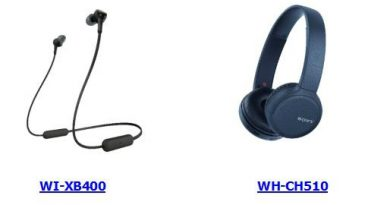 Sony WH-XB400 and WH-CH510