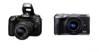 Canon EOS 90D and EOS M6 Mark II
