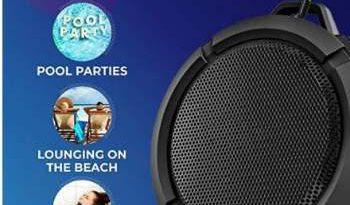 BRIX Waterproof Portable Bluetooth Speakers