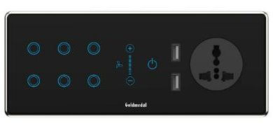 Goldmedal Electricals launches IoT enabled i-Touch Wi-Fi 6 module smart switch 1