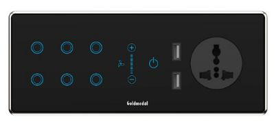 Goldmedal Electricals launches IoT enabled i-Touch Wi-Fi 6 module smart switch