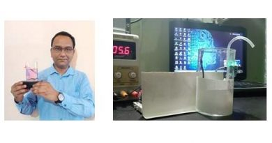 Timex India employee builds an in-house disinfectant chamber and automatic hand sanitizer dispenser 2