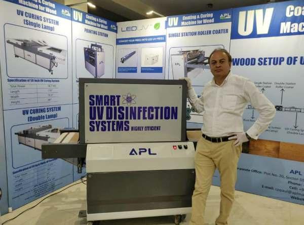 UV-C-Disinfectant-system
