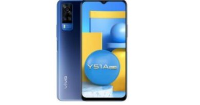 vivo introduces Y51A with 48MP Rear Camera, 5000mAh battery and 18W Fast Charge 2