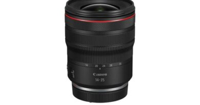 Canon L308 ultra-wide angle zoom lens