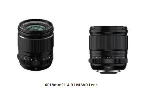 Fujifilm FUJINON XF18mmF1.4 R LM WR Lens