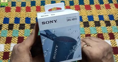Sony SRS-XB13 Wireless Speaker Review [Hindi]