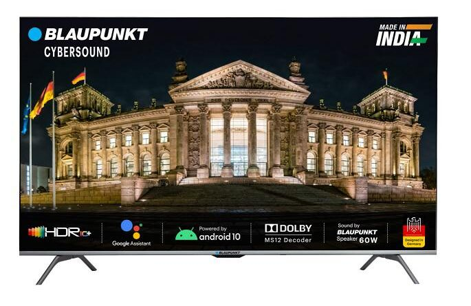 Blaupunkt Launches 50-inch Android TV Model