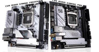 COLORFUL B560 Mini-ITX Motherboards and Compact RTX 3060 Mini Graphics Card