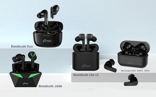 pTron Gaming Earbuds and 3 New TWS Earbuds