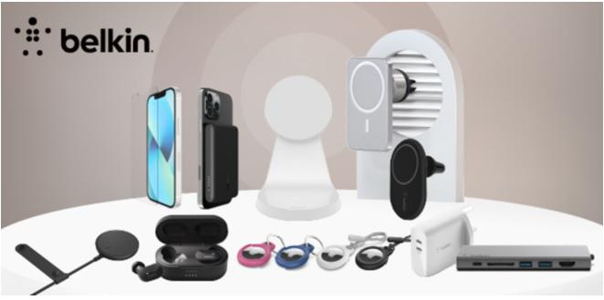 Belkin India offers a suite of accessories solutions for the new iPhone 13 and iPad series