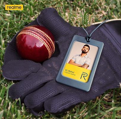 realme announces KL Rahul as the brand ambassador for the smartphone category